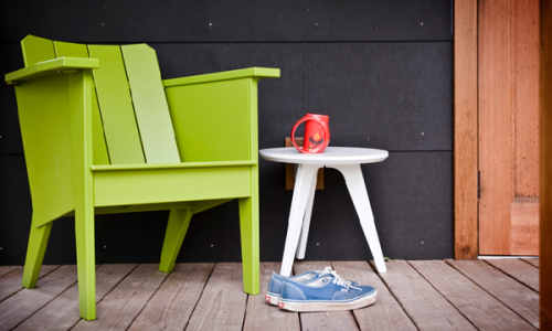 Loll Design makes outdoor furniture, but they are not your typical lawn  chairs or tables. These furniture pieces are