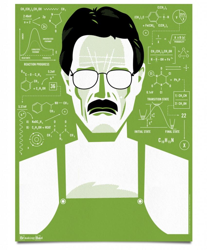 Walter white green apron - Ty Mattson Breaking Bad 01